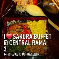 Photo taken at Sakura Buffet @ Central Rama 3 by Kopkit S. on 3/30/2013