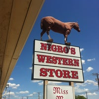 Photo taken at Nigros Western Store by Randy O. on 7/19/2013