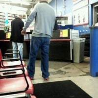 Photo taken at Pep Boys Auto Parts & Service by mary c. on 11/23/2012