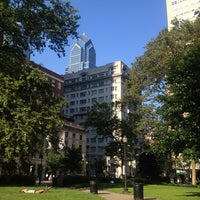 Photo taken at Rittenhouse Square by Marianna V. on 6/20/2013