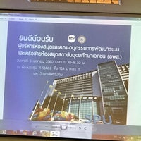 Photo taken at อาคาร 11 (อาคารครบรอบ 40 ปี) Building 11 (40th Anniversary - Intelligent Building) by Koong A. on 4/5/2017