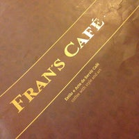 Photo taken at Fran's Café by Priscila Yumi F. on 5/27/2013