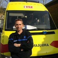 Photo taken at Ambulance 112 Marbais by Frederic H. on 6/12/2014