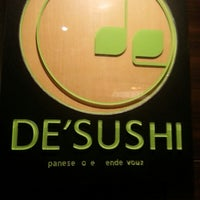Photo taken at DE'SUSHI by Stanley W. on 9/27/2013