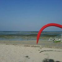 Photo taken at Pantai Segara Ayu by pangeran h. on 9/16/2012