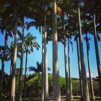 Photo taken at Jardim do MAM by Arthur A. on 4/25/2013