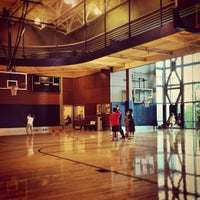 Photo taken at Bellevue Club Basketball Courts by Soo Min P. on 9/12/2013