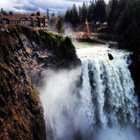 Photo taken at Snoqualmie Falls by Soo Min P. on 3/17/2013