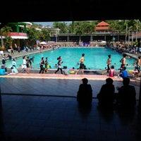 Photo taken at Lembah Dieng Swimming Pool by Putri A. on 9/16/2016