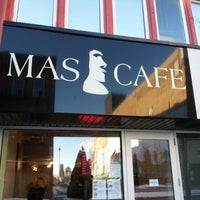 Photo taken at Mas Cafe by Joel A. on 2/6/2013