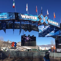Photo taken at X-Games TV Compound by Purple M. on 1/26/2014