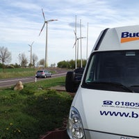 Photo taken at Rasthof Route 66 Uhrsleben by Jones on 5/3/2013
