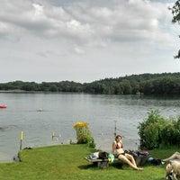 Photo taken at Naturcamping am Stocksee by Torben G. on 7/27/2013