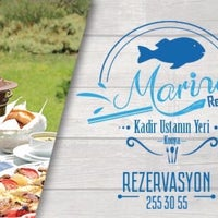 Photo taken at Marina Restaurant by 🐟KONYA MARİNA RESTAURANT-KADİR USTANIN YERİ🐟 (. on 3/4/2017