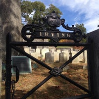 Photo taken at Washington Irving's Grave by Margaret G. on 10/27/2013
