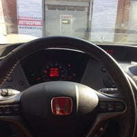 Photo taken at Honda Rus by Stanislav K. on 3/26/2014