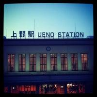 Photo taken at Ueno Station by butasan2007 on 11/24/2012