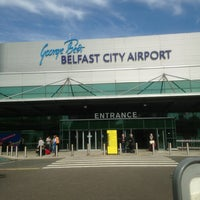 Photo taken at George Best Belfast City Airport (BHD) by Beth on 6/18/2013