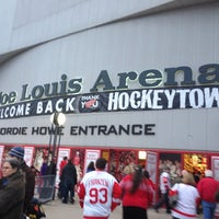 Photo taken at Joe Louis Arena by Matt F. on 3/7/2013