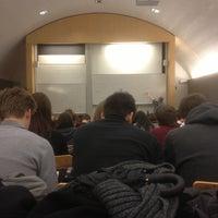 Photo taken at AP Hogeschool - Campus Mutsaardstraat by Gregory D. on 12/3/2012