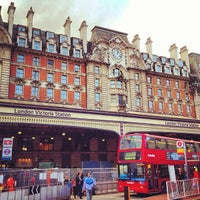 Photo taken at London Victoria Railway Station (VIC) by Anil P. on 11/11/2012