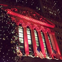 Photo taken at New York Stock Exchange by Anil P. on 1/1/2013