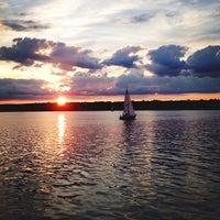 Photo taken at Hamilton Harbour by Anil P. on 7/1/2013