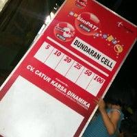 Photo taken at Bundaran Cell by unchu c. on 8/26/2013