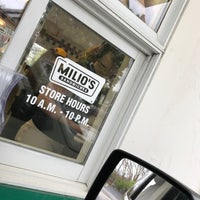 Photo taken at Milios Sandwiches by James T. on 4/27/2017