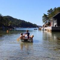 Photo taken at Øko Island by Ofo F. on 6/29/2014