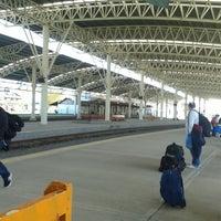 Photo taken at Estación Ferroautomotora de Mar del Plata by bender m. on 5/5/2013