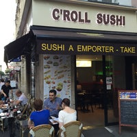 Photo taken at C'Roll Sushi by Eli T. on 7/10/2015