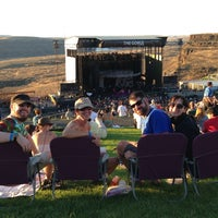 Photo taken at The Gorge Amphitheatre by Eli T. on 8/31/2013