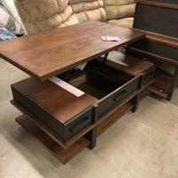 Photo Taken At Ashleyu0026amp;#39;s Furniture By Eli T. On 2