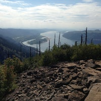 Photo taken at Angels Rest by Eli T. on 8/11/2013