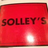 Photo taken at Solley's Restaurant & Deli by Ernie M. on 1/2/2013