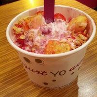 Photo taken at Yoyo's Yogurt Cafe by Zoltan H. on 11/22/2013