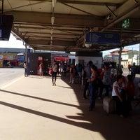 Photo taken at Terminal Goiânia Viva by Fridenand A. on 3/14/2014