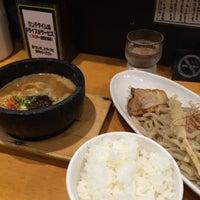 Photo taken at つけ麺 まぜ郎 ぎんや 砂田橋店 by taku_bo_zu on 11/20/2015