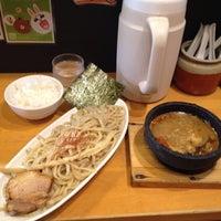 Photo taken at つけ麺 まぜ郎 ぎんや 砂田橋店 by taku_bo_zu on 6/20/2014