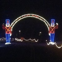 Photo taken at Tanglewood Festival of Lights by Dori F. on 11/30/2012