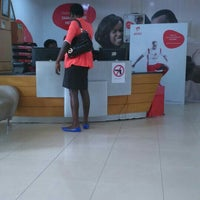 Photo taken at Airtel HQ (temp) by Angel E. on 8/14/2015