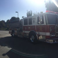 Photo taken at Redwood City Fire Department - Station 20 by Meredith W. on 10/22/2015