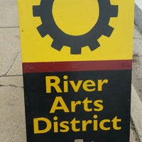 Photo taken at River Arts District by Steve H. on 11/15/2015