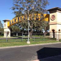Photo taken at The Bakersfield Sign by Judy A. on 10/25/2014