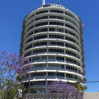 Photo taken at Capitol Records by Judy A. on 5/20/2017