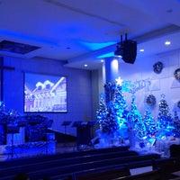Photo taken at Gereja Kristen Indonesia (GKI) by Brando .. on 12/24/2014