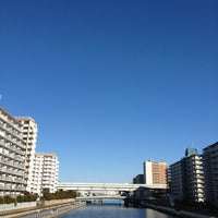 Photo taken at 鴎橋 by Tomoaki M. on 1/27/2013