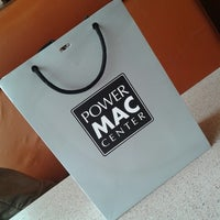 Photo taken at Power Mac Center by Hope C. on 9/2/2014