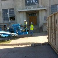Photo taken at Seaholm Power Plant by Kiloindatrunk on 4/15/2014